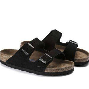 Birkenstock Arizona Soft Footbed Suede Sandals